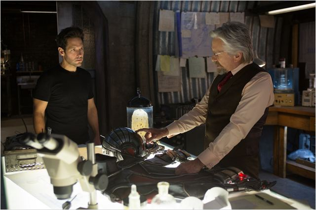 Ant-Man : Photo Michael Douglas, Paul Rudd