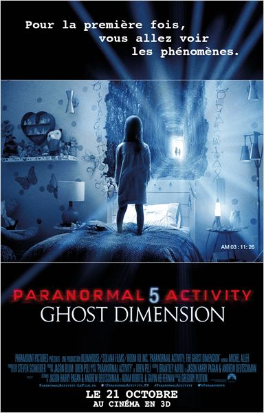Paranormal Activity 5 Ghost Dimension ddl