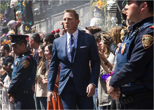 007 Spectre : Photo Daniel Craig