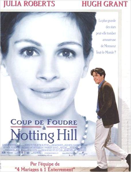Coup de foudre notting hill affiche allocin - Regarder coup de foudre a notting hill ...