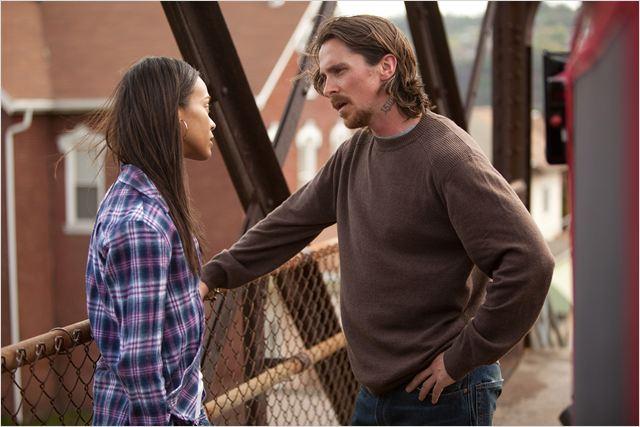 Les Brasiers de la Colère : Photo Christian Bale, Zoe Saldana