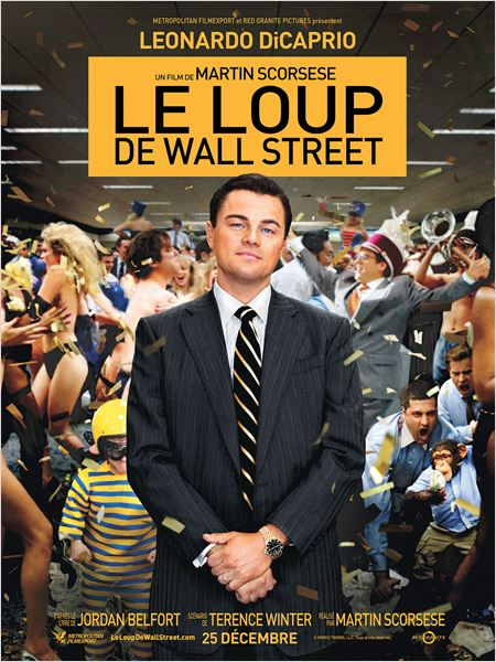 Regarder Le Loup de Wall Street en streaming
