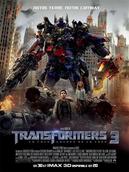 Transformers 3 La Face cachée de la Lune