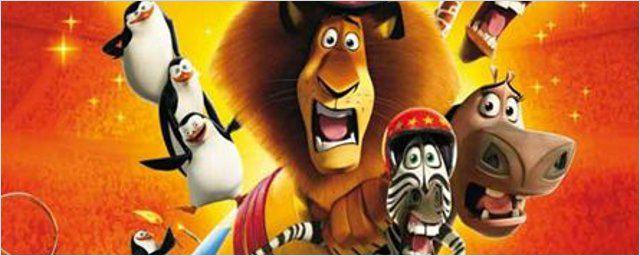"""1ères séances : les héros de """"Madagascar 3"""" débarquent en force !"""