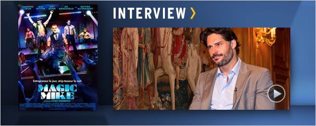 """Magic Mike"": Joe Manganiello au micro ! [VIDEO]"
