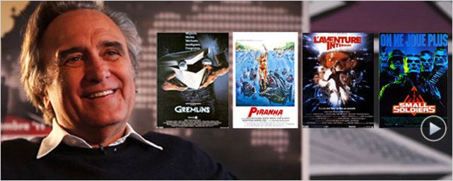 &quot;Gremlins&quot;, &quot;Piranhas&quot;, &quot;L&#39;Aventure int&#233;rieure&quot;... : Joe Dante revient sur sa carri&#232;re