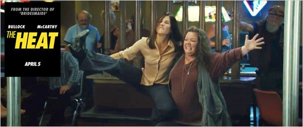 "Sandra Bullock & Melissa McCarthy dans le ""buddy"" movie ""The Heat"": la BA ! [VIDEO]"