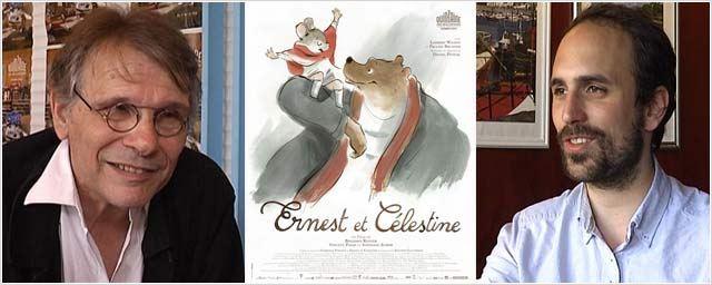 """""""Ernest & Célestine"""" : rencontres avec Daniel Pennac et Benjamin Renner [VIDEO]"""