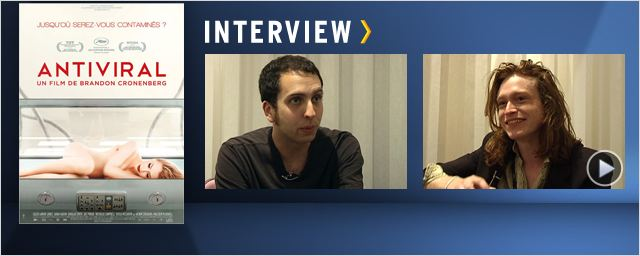 """Antiviral"" : rencontre avec Brandon Cronenberg et Caleb Landry Jones ! [VIDEOS]"