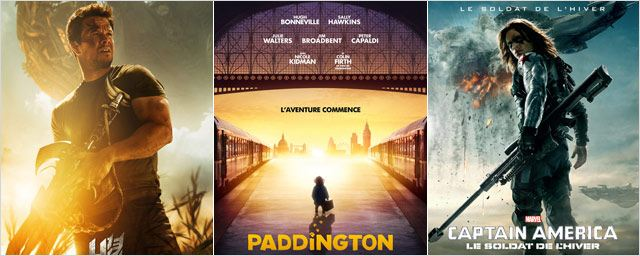 Transformers, Paddington, Captain America,...: Le plein d'affiches !