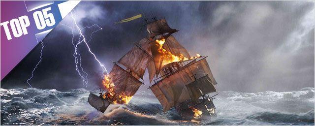 Le Top 5 des duels de bateaux [VIDEO]