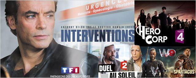TF1, France TV, M6, W9 font le plein de séries avec Intervention, Duel au soleil, Vikings, The Last Ship...