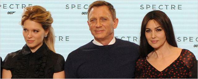 James Bond : Daniel Craig, Léa Seydoux et Monica Bellucci posent pour Spectre