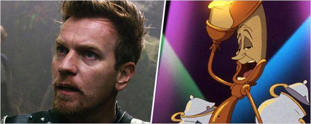 Ewan McGregor tient la chandelle pour La Belle et la bête de Disney