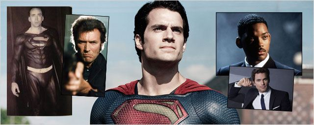 Matt Bomer, Nicolas Cage, Will Smith... 20 acteurs qui ont failli incarner Superman !