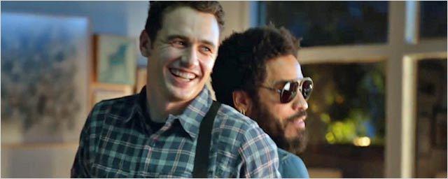 James Franco et Lenny Kravitz se déchaînent sur Guitar Hero