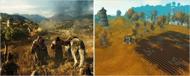 Wacraft, le film Vs World of Warcraft : le duel en images !
