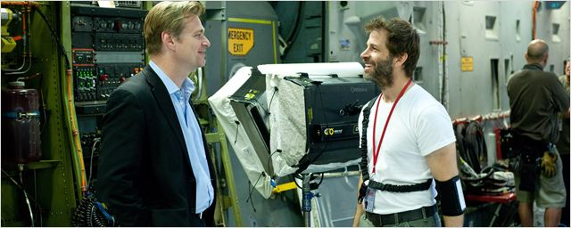 Batman v Superman : Zack Snyder adoubé par Christopher Nolan