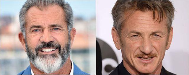 Mel Gibson et Sean Penn bientôt réunis à l'écran pour la première fois !