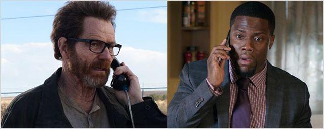 Remake US d'Intouchables : Bryan Cranston et Kevin Hart officiellement au casting !