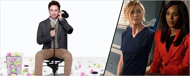 Scandal, Zach Braff, spin-off de Grey's Anatomy... Les dates d'ABC pour la mi-saison