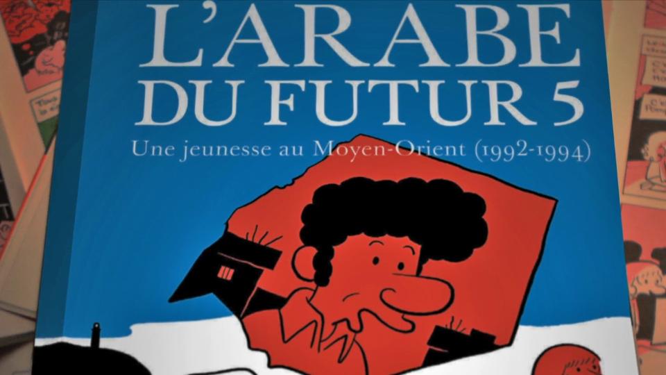 Regarder la vidéo Riad Sattouf - L'Arabe du Futur 5 : La Conférence en direct au cinéma Bande-annonce VF