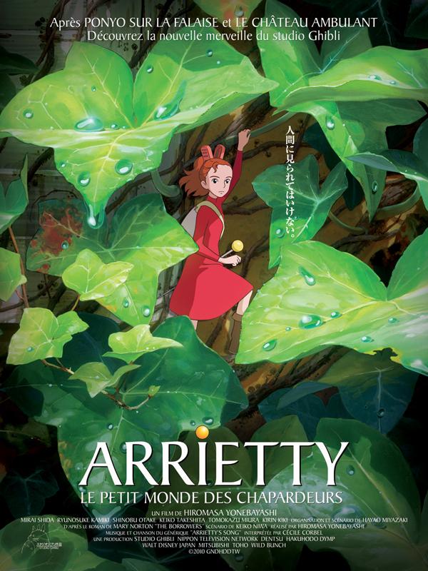 Arrietty le petit monde des chapardeurs : affiche