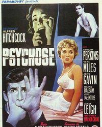 Affiche du film Psychose