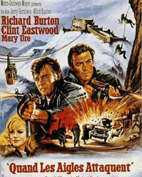 Affiche du film Quand les aigles attaquent
