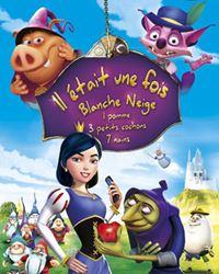 Affiche du film Il était une fois Blanche Neige, 1 pomme, 3 petits cochons, 7 nains