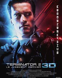 Affiche du film Terminator 2 : le Jugement Dernier 3D