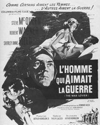 Affiche du film L'Homme qui aimait la guerre