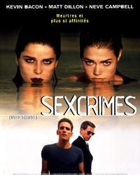 Affiche du film Sex crimes
