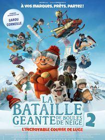 La Bataille géante de boules de neige 2 : L'incroyable course de luge