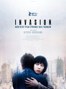"Cinéma asiatique, film japonais de Kiyoshi Kurosawa ""Invasion"""