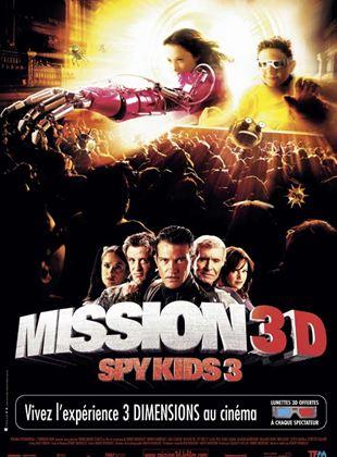 Bande-annonce Mission 3D Spy kids 3