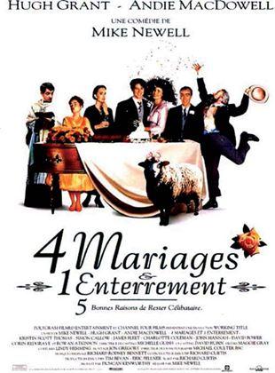Bande-annonce Quatre mariages et un enterrement
