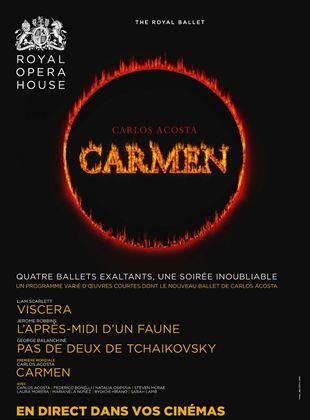 Viscera - L'Après-midi d'un Fauve - Pas de Deux de Tchaikovsky - Carmen (Arts Alliance)