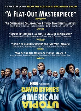 Bande-annonce David Byrne's American Utopia