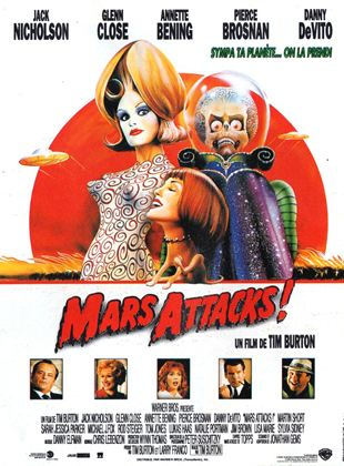 Bande-annonce Mars Attacks!