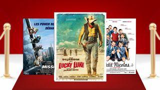 Box-office : Lucky Luke devant Little Nicolas
