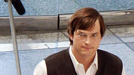 Ashton Kutcher dans la peau de Steve Jobs [PHOTOS]