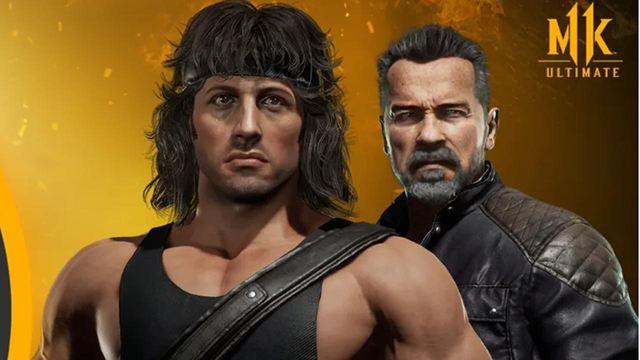 Rambo Vs Terminator : le duel à mort des icônes dans Mortal Kombat 11 en vidéo !