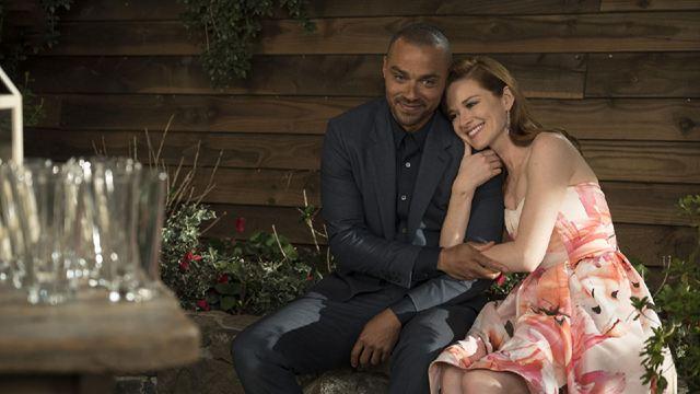 Grey's Anatomy : la première photo des retrouvailles entre Sarah Drew (April) et Jesse Williams (Jackson)