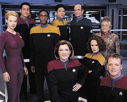Affiche de la série Star Trek: Voyager