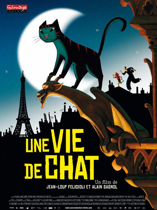 Une vie de chat - film 2010 - AlloCiné
