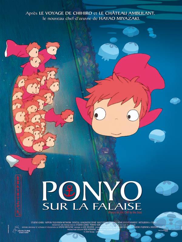 Ponyo sur la falaise - film 2008 - AlloCiné
