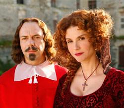 Affiche de la série La Reine et le Cardinal