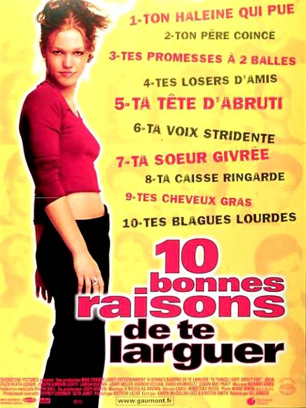 TE TÉLÉCHARGER DE 10 RAISONS LARGUER BONNES