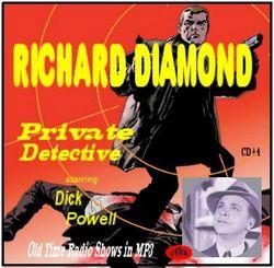 Affiche de la série Richard Diamond, Private Detective